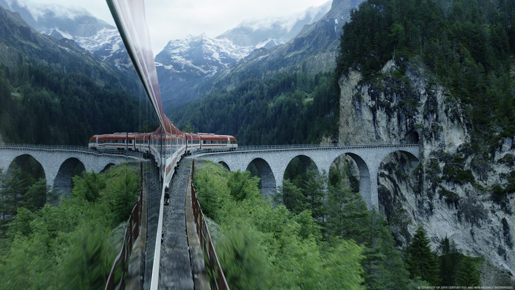 Image result for a cure for wellness train
